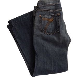 7 For All Mankind Dojo jeans size 26 inseam 28